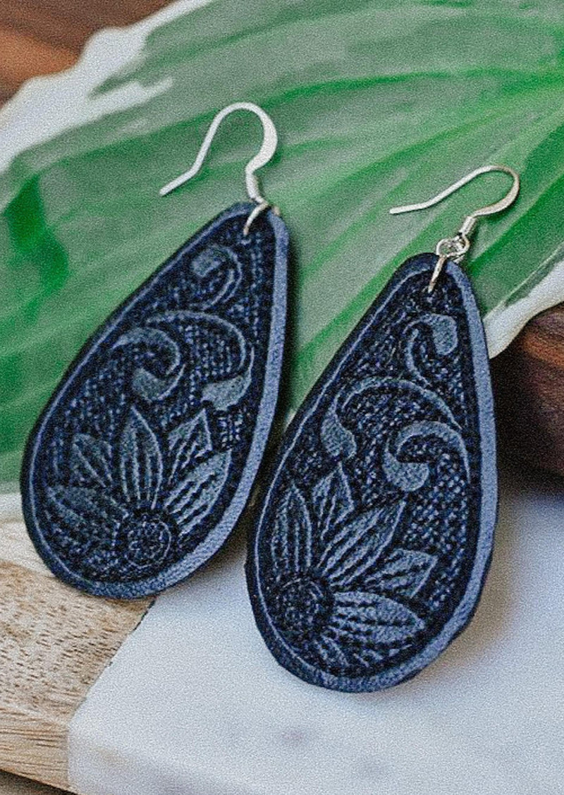 Adria Rae Handmade Earrings | Midnight