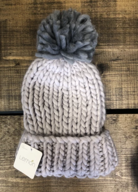 Lemon Seattle Puff Hat - Lilac Ash