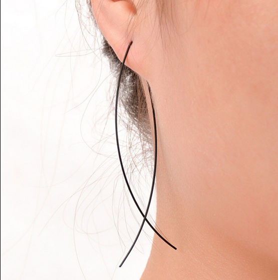 Wonderlust Earrings | Black