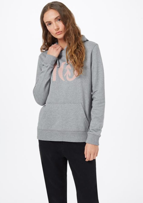 Tentree Classic Hoodie | Heather Grey/Misty Rose Pink