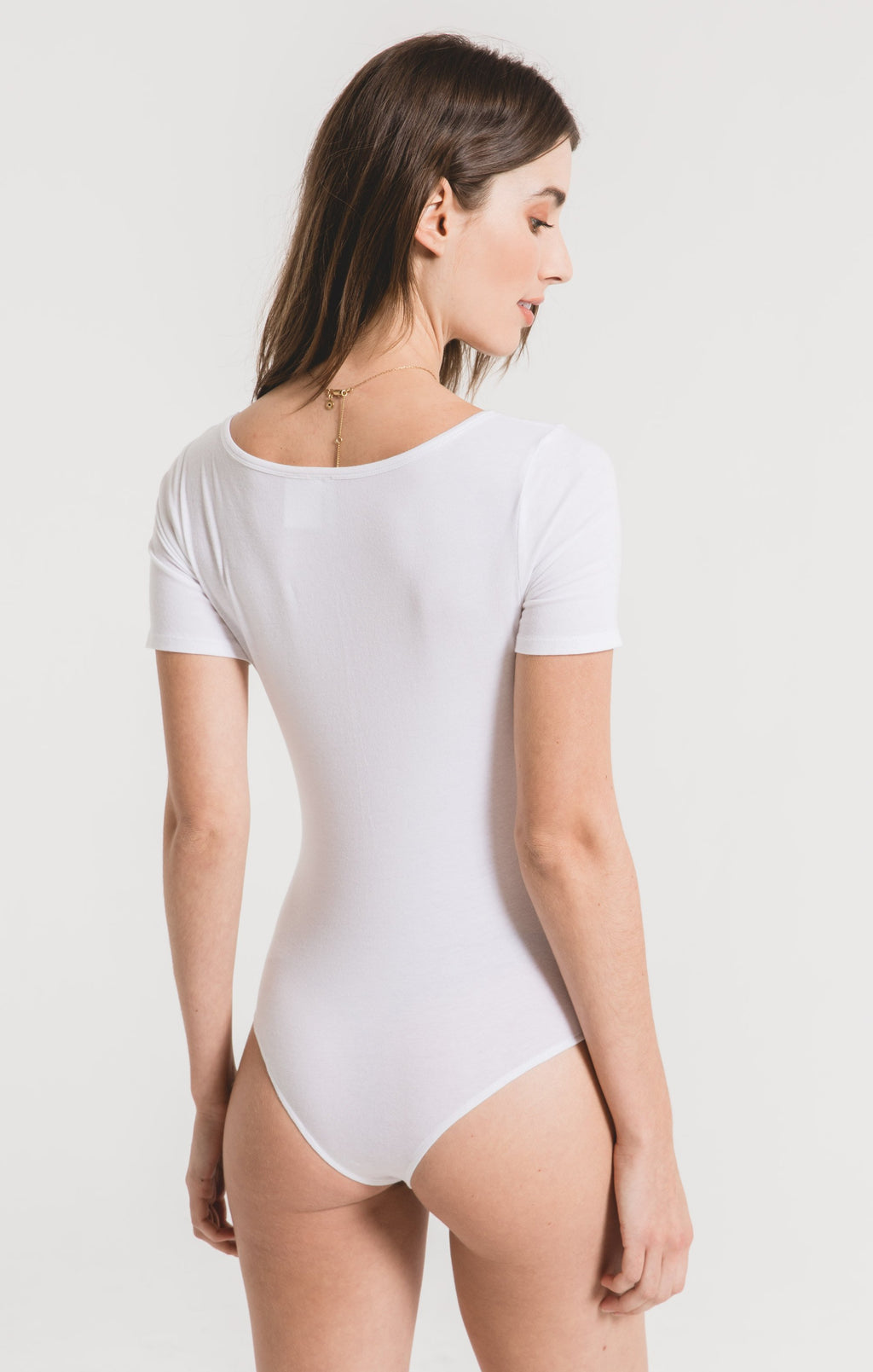 Z Supply The Harlo Bodysuit | White