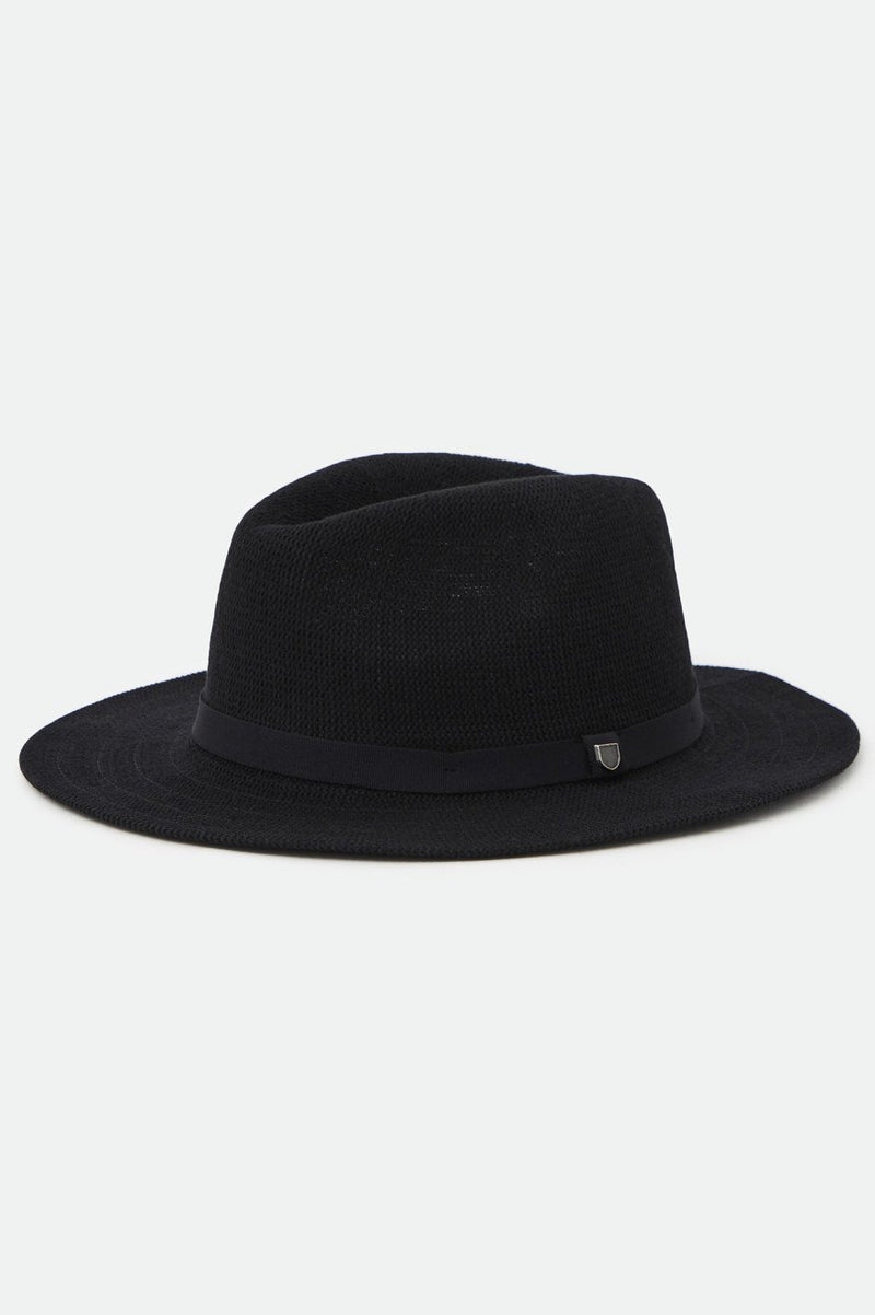Brixton Knit Packable Fedora | Black