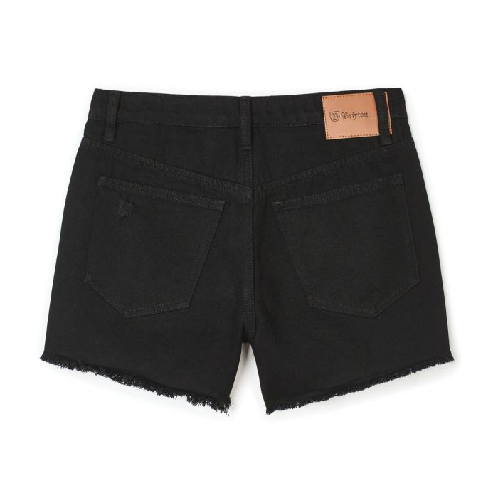 Brixton Natasha Cut-Off Shorts - Black