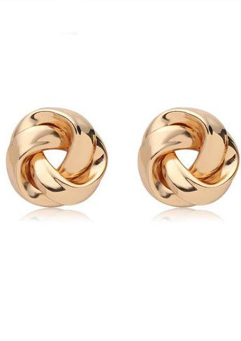 Bella Circle Knot Earrings