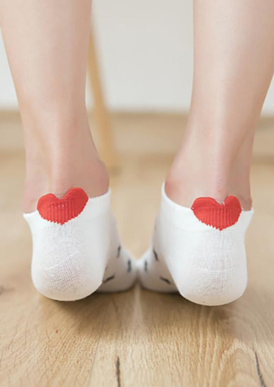 Bella Heart Socks | Multiple Colours