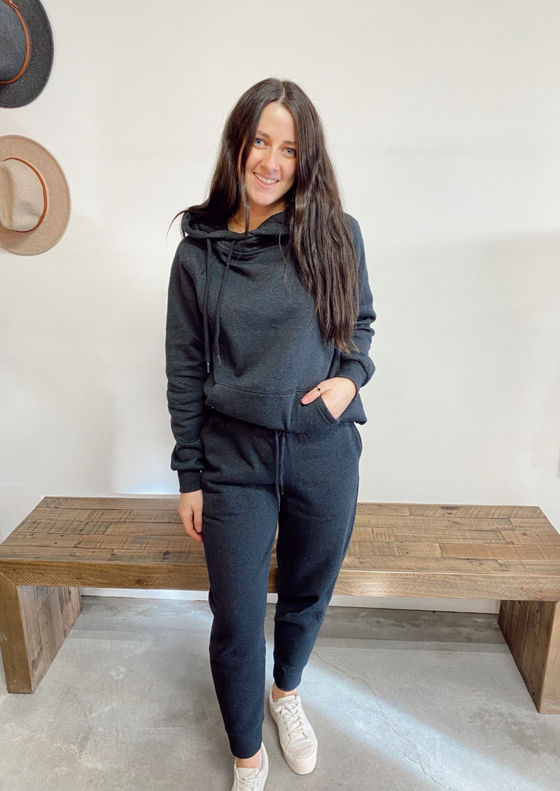 New Flow Sweatsuit Set | Charcoal