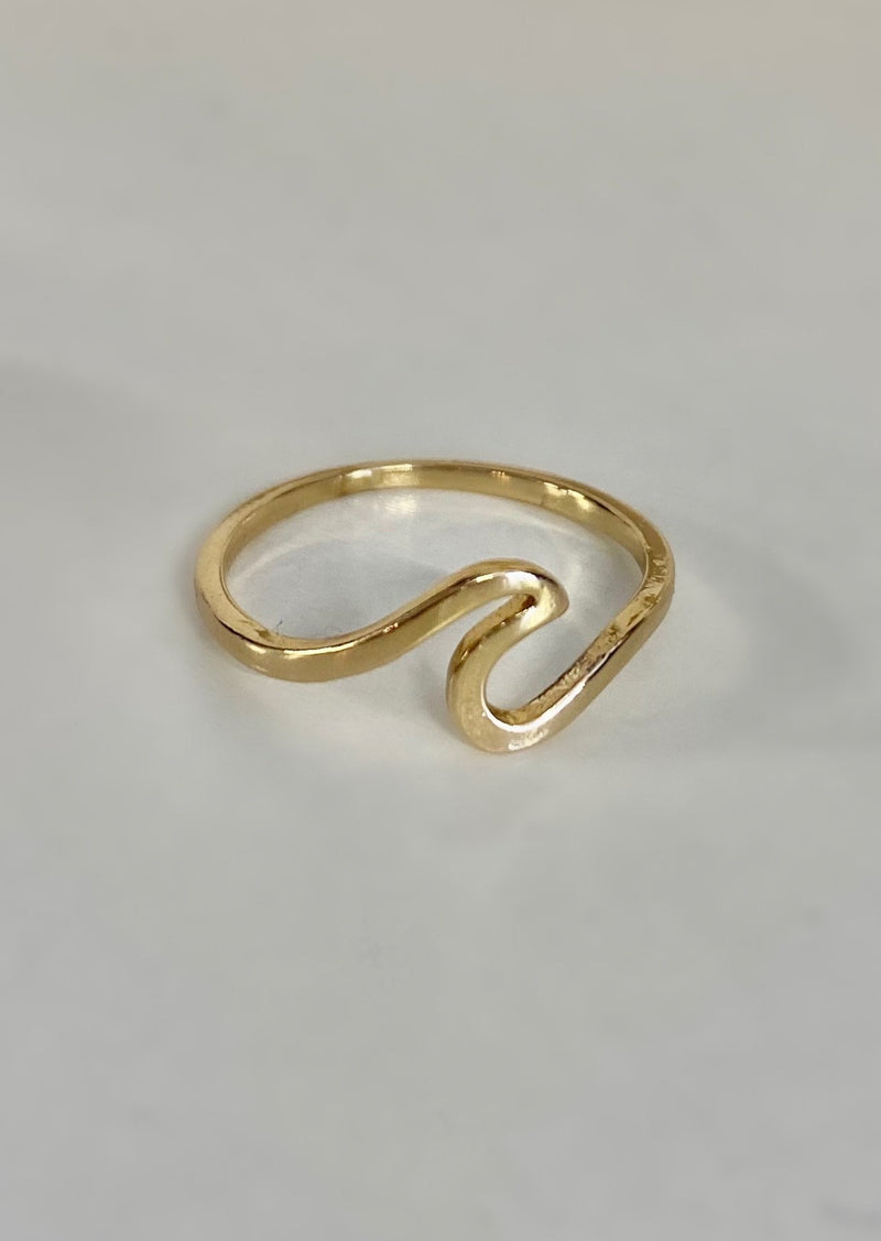 Bella Tide High Wave Ring | Silver or Gold
