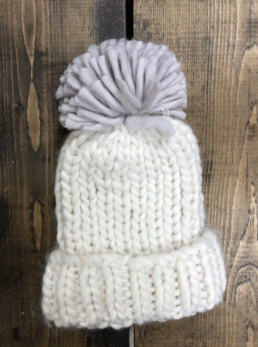 Lemon Seattle Puff Hat O/S Almond