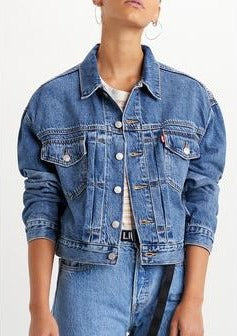 Levi's New Heritage Trucker Jacket | Turn the Tide