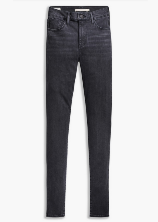 Levi's 720 HIRISE SUPER SKINNY | Washed Black