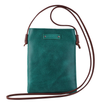 MW Leather Side Crossbody | Turqouise