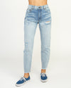 RVCA | PIPER HIGH RISE TAPERED DENIM JEAN