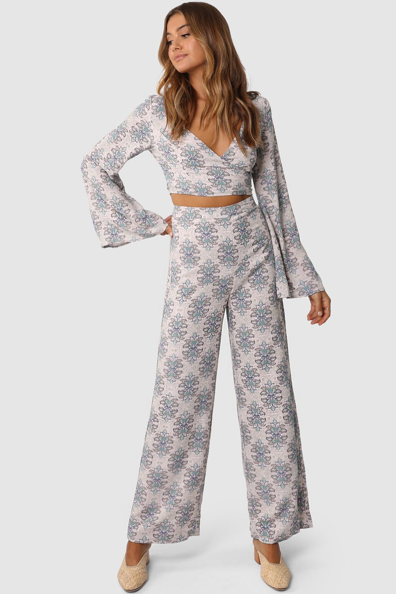 Lost In Lunar Evie Pants - Paisley