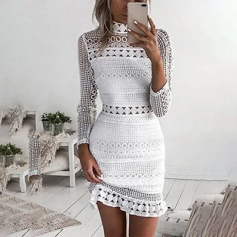 2019 Sexy Lace Bodycon Dresses