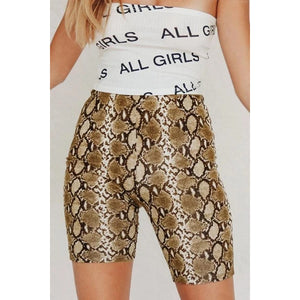 Animal Printed   Basic  Pants