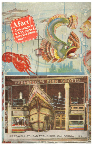 Bernstein's Fish Grotto, San Francisco 1940s