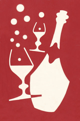 Bruno. Montreal 1950s Menu Art
