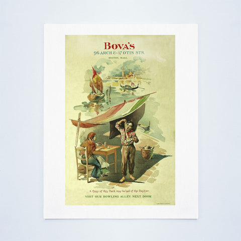 Bova's, Boston 1906