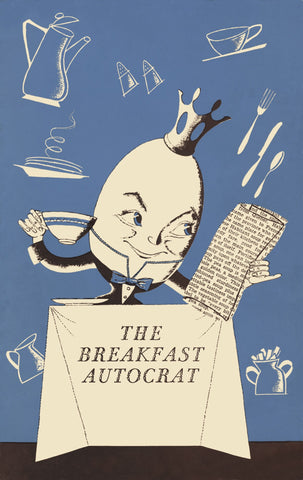 Blue Breakfast Autocrat, Hotel New Yorker, New York, 1950s