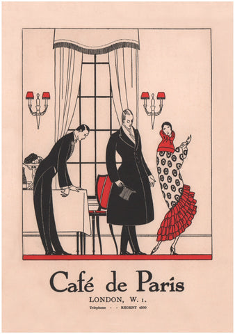 Café De Paris, London 1920s