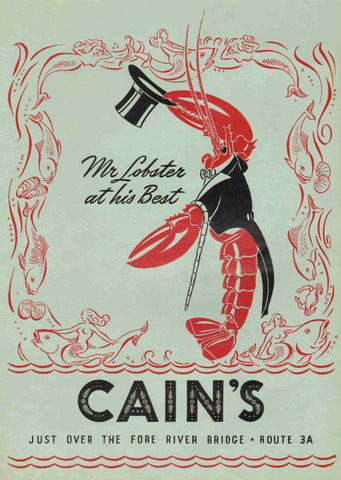Cain's North Weymouth, MA 1940s