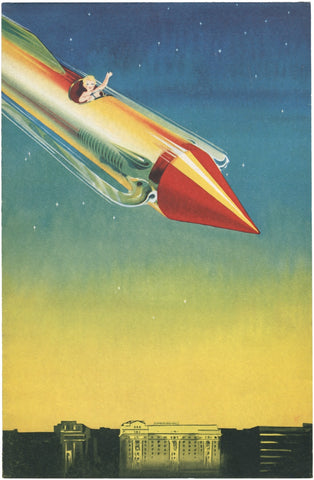 New Year's Rocket, Cumberland Hotel, London 1935