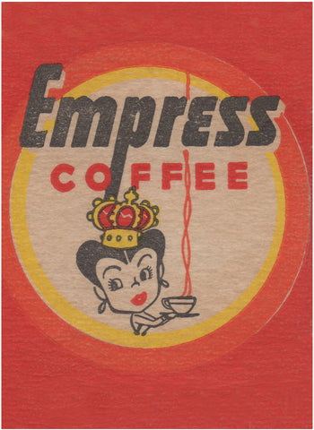 Empress Coffee 1940s WW2 Era