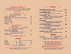 Grisinger's Long Beach 1951 Menu
