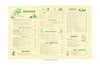 The Green Frog Waycross Georgia Bill Darden 1955 Interior Menu