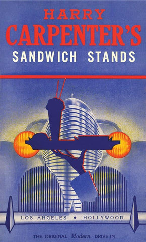 Harry Carpenter's Sandwich Stands Hollywood 1942