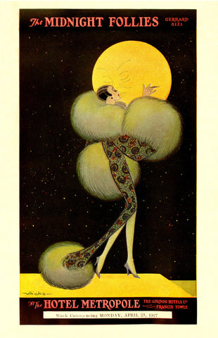 Midnight Follies, Hotel Metropole, London 1927
