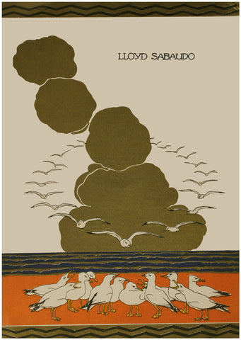 Lloyd Sabaudo 1927 Menu Art