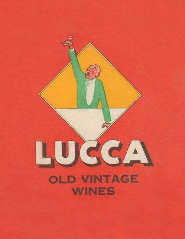 Lucca, Los Angeles & San Francisco 1930s Menu Art