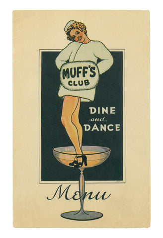 Muff's Club, Modesto, California, 1940s