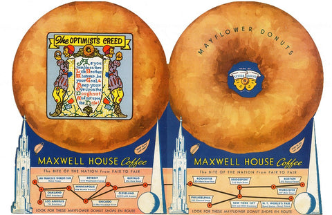 Mayflower Donuts Double Cover, San Francisco 1939