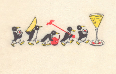 Cocktail Penguins, 1950s