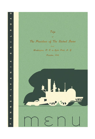 Trip of The President of The United States of America to Hyde Park N.Y. 1938