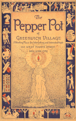 Pepper Pot, Greenwich Village New York 1925s