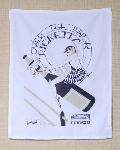 Rickett's Chicago 1930s 100% Cotton Kitchen Towel