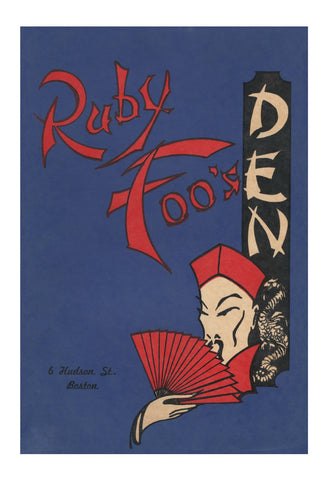 Ruby Foo's Den, Boston 1960s