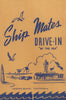 ShipMates Drive-In, Laguna Beach 1950s Menu Art