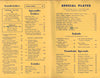 ShipMates Drive-In, Laguna Beach 1950s Menu