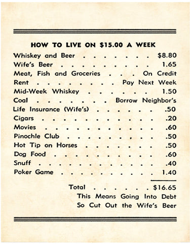 Stormy's Casino Royale, New Orleans, 1940s $15 A Week