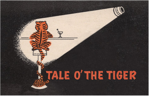 Tale O' The Tiger Match Cover 2, Fort Lauderdale 1960s
