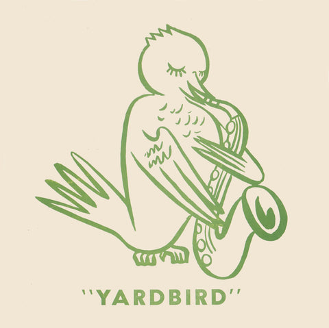 """Yardbird"" from the Original Birdland, New York 1950s Menu Art"
