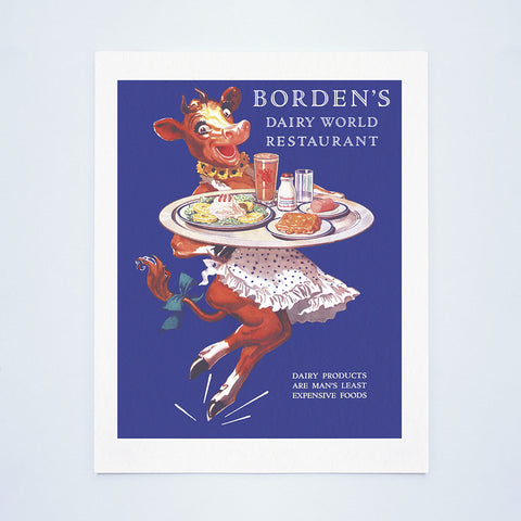 New York World's Fair 'Borden's Dairy World' 1939