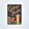 Cathay House, Boston, 1940s Vintage Menu Print