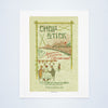 Chopstick, Boston, 1950s Vintage Chinese Menu Print