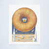 Mayflower Donuts Front Cover, San Francisco and New York World's Fairs, 1939 Vintage Menu