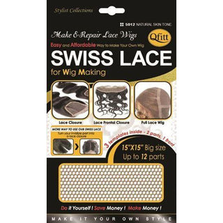 Qfitt Swiss Lace #5012 - Natural Skin Tone - Beauty Krew
